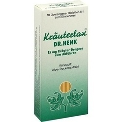 KRAEUTERLAX DR HENK 15MG